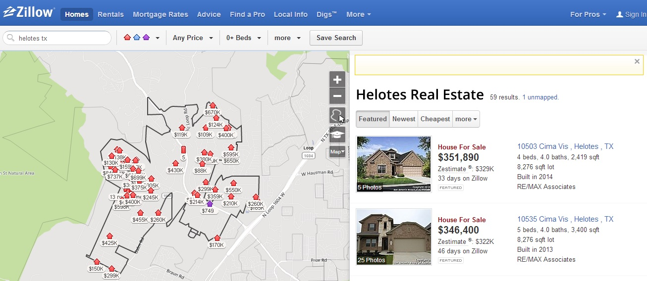 zillow neighborhood