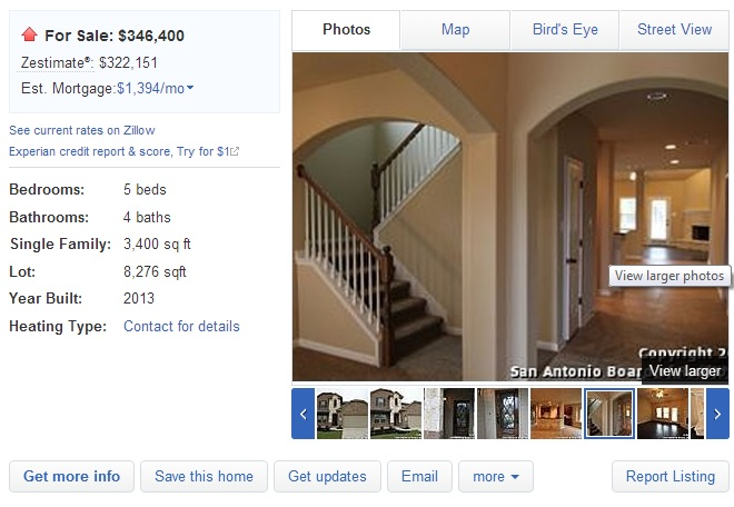 zillow home detail